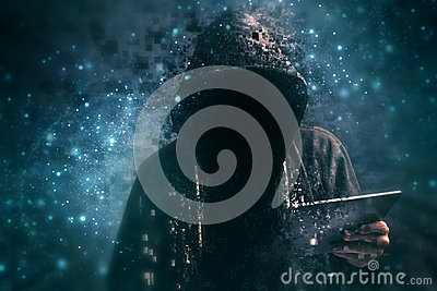 pixelated-unrecognizable-hooded-cyber-criminal-faceless-man-using-digital-tablet-cyberspace-57452780